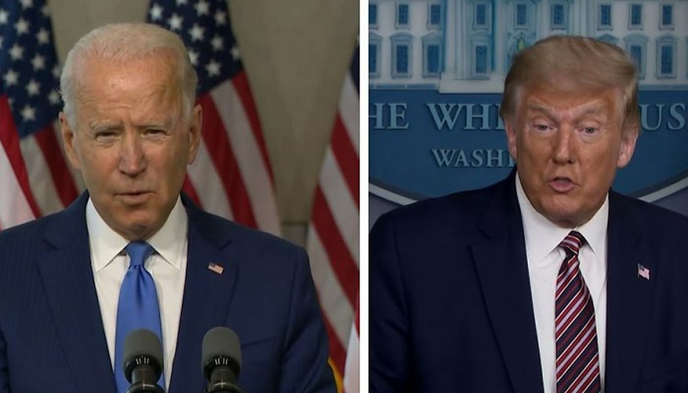 Trump votes in Fla. before rallies; Biden focuses on Pa.