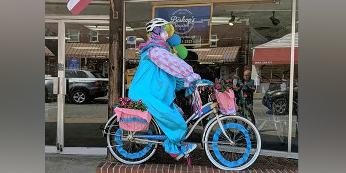 No laughing matter: Clown disappears from storefront display