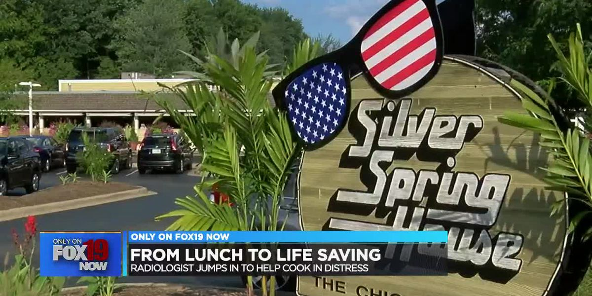 Man eating lunch at Symmes Twp. restaurant helps save cook's life