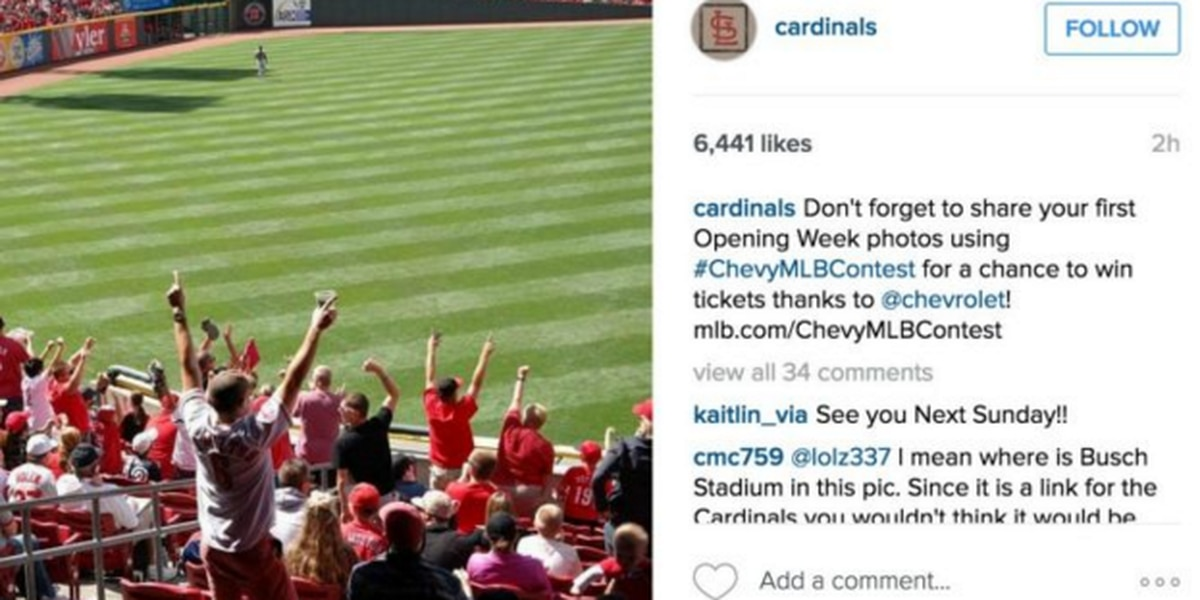 St. Louis Cardinals botch ticket promotion with photo of GABP, Reds fans