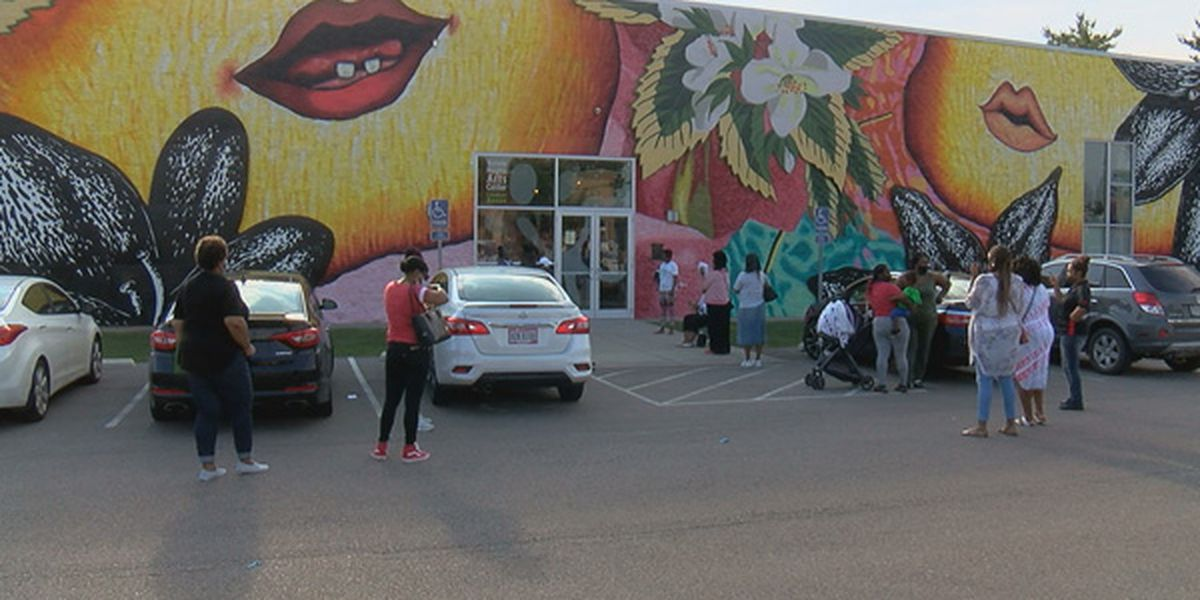 Legacy Point Church host back-to-school giveaway at Kennedy Arts Center Lindner Annex for families in need