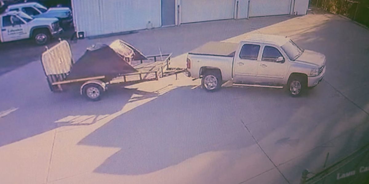 Man's lawn mower and trailer stolen for second time in five weeks