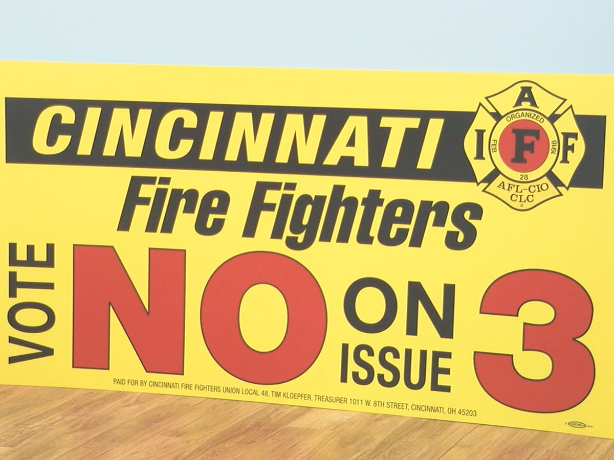 Local firefighters express concern over 'Issue 3' on the ballot