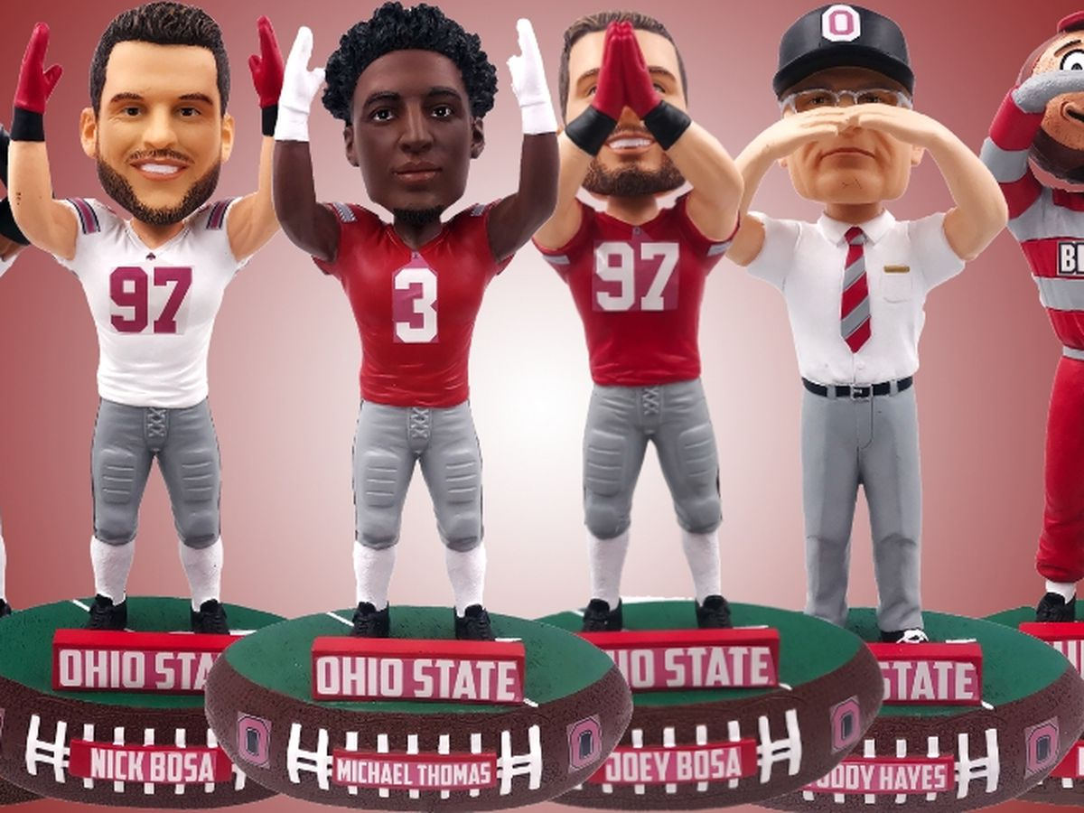 National Bobblehead Hall of Fame and Museum unveils Ohio State O-H-I-O series