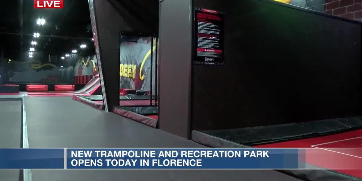 New trampoline and recreation park opens in Florence