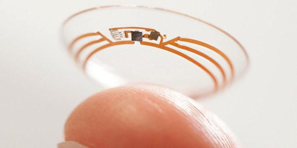 Sony developing video-recording contact lenses