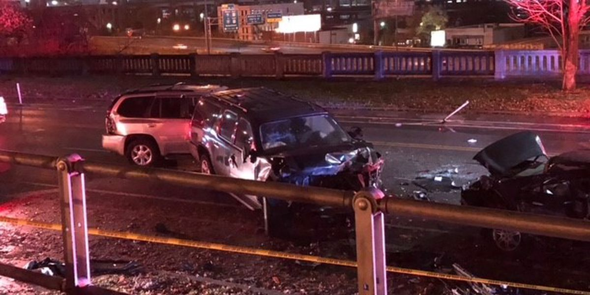Woman killed in crash on Central Parkway, police say