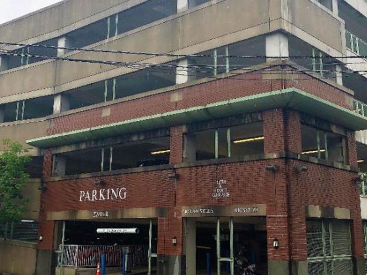 Rescue training closes top floor of Midtown garage