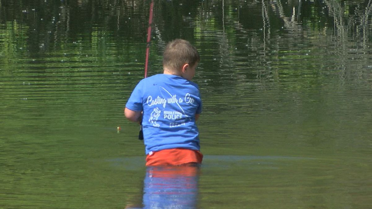 Middletown first responders team-up with Butler Co. children in annual fishing event