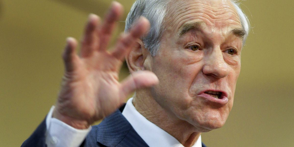 Ron Paul suffers medical issue during livestream, tweets 'I am doing fine'