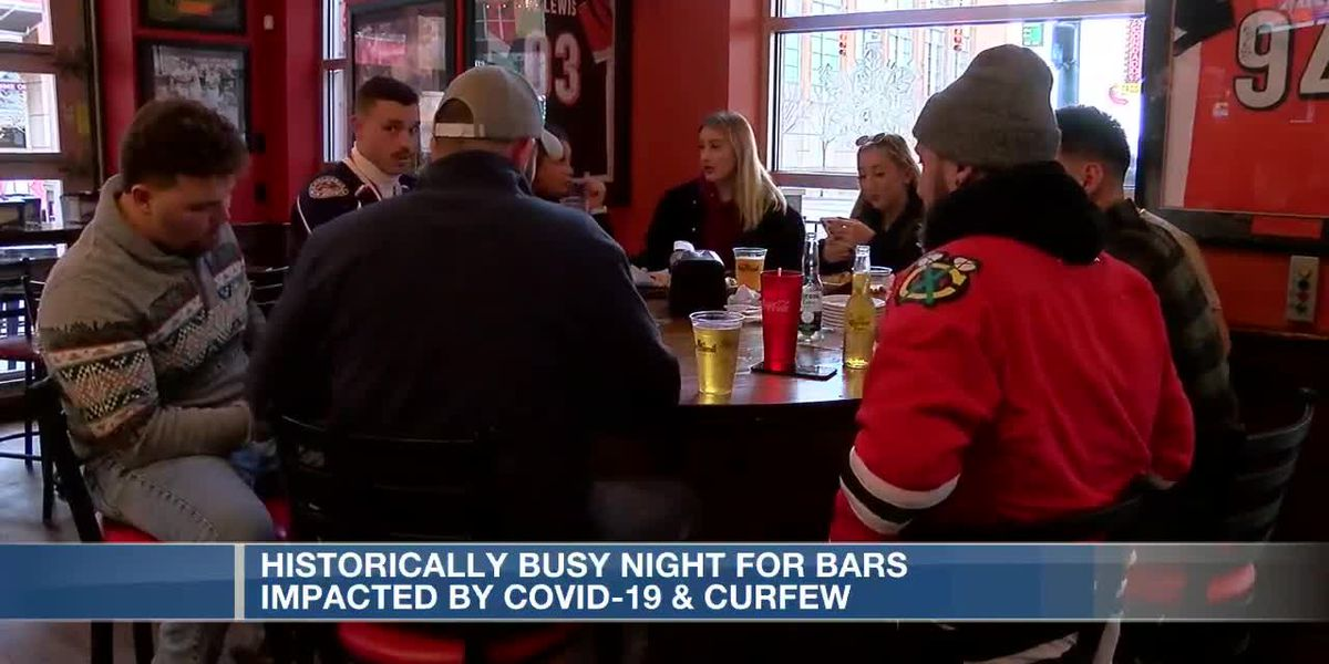 Historically busy night for bars impacted by COVID-19, curfew