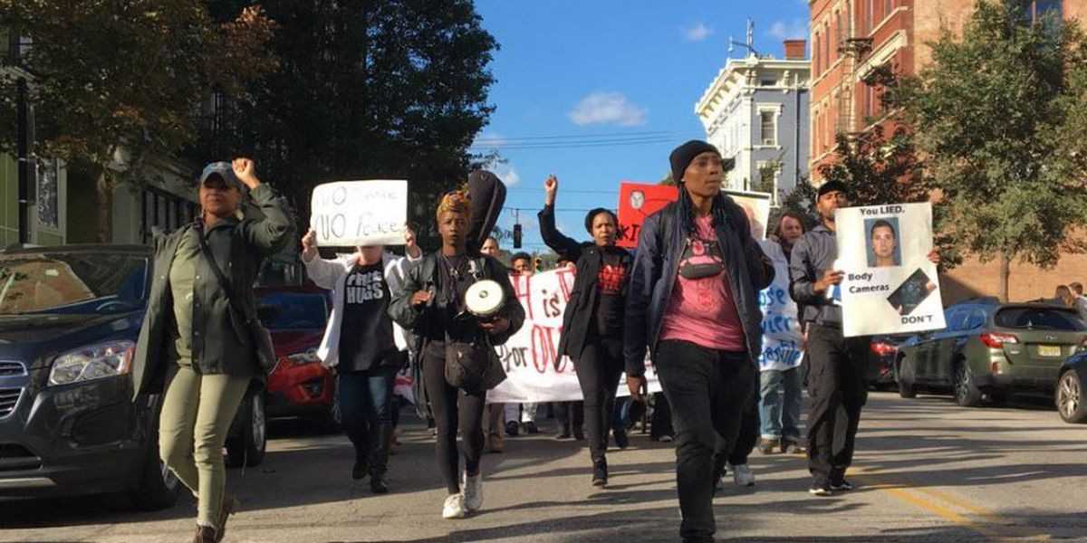 Protesters rally for justice ahead of Tensing trial