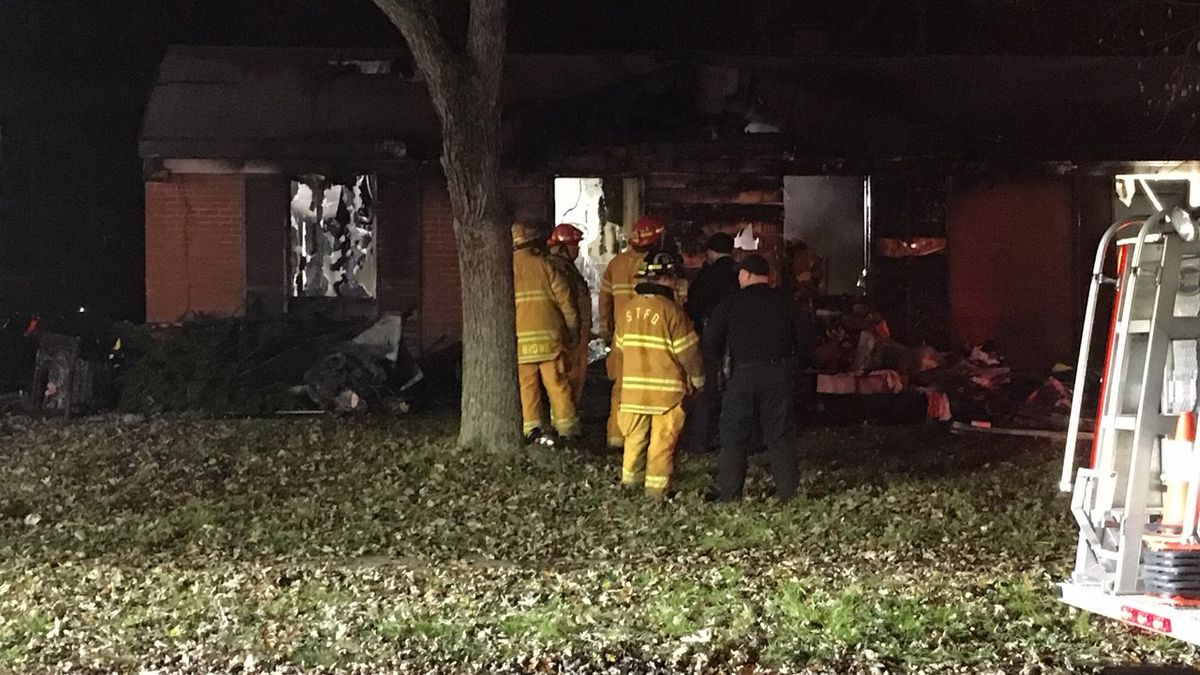 Fire destroys Springfield township home