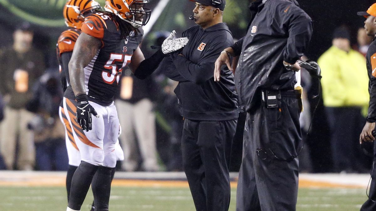 Vontaze Burfict dealt heavy fine for transgressions against Steelers
