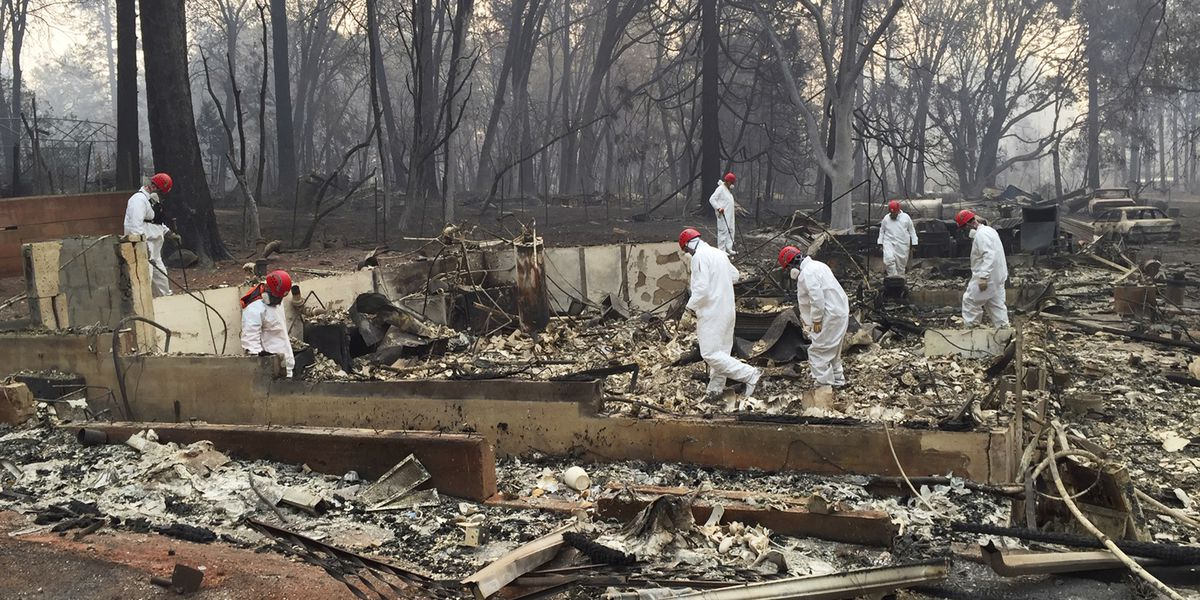 Fire death toll hits 63; sheriff says hundreds still missing