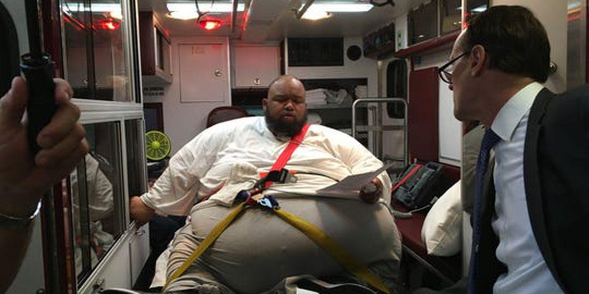 Inside an ambulance, convicted drug dealer pleads guilty, is sentenced
