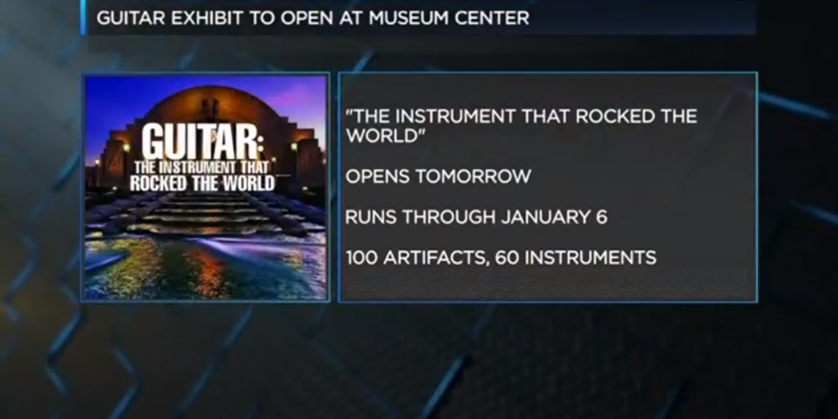 New guitar exhibit at the Cincinnati Museum Center - FOX19