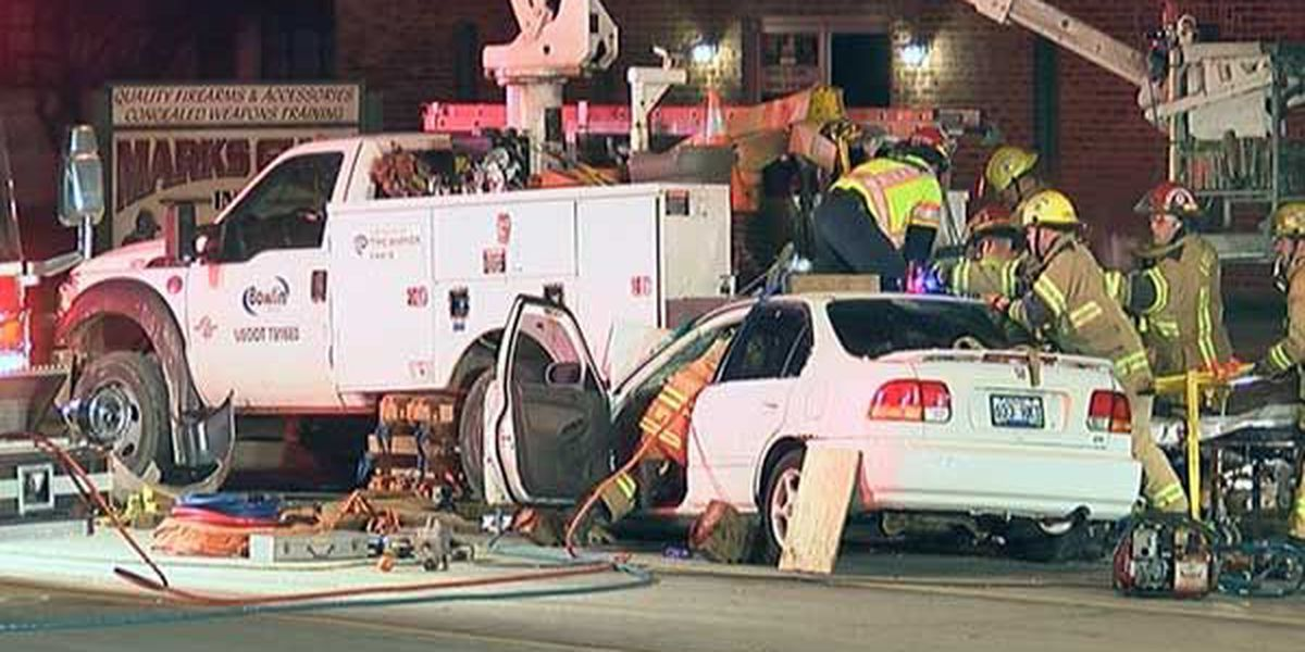 Utility worker dies after being pinned under vehicle by alleged drunk driver