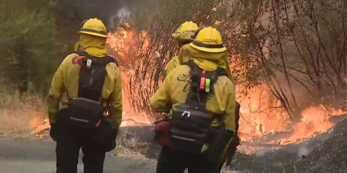 Trump changes course, approves California relief for 6 fires