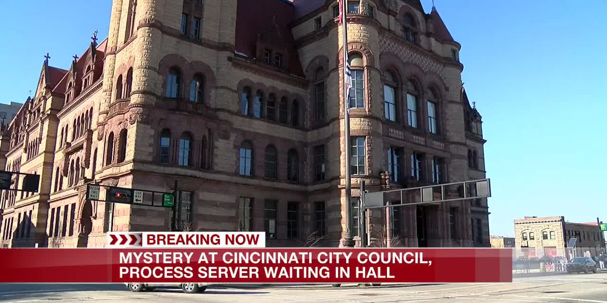 Mystery outside City Council as subpoena confirmed at city hall