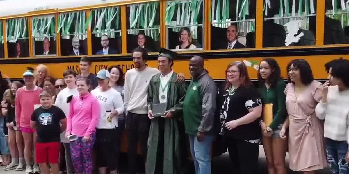 Mason grads get diplomas hand-delivered with personal keynote