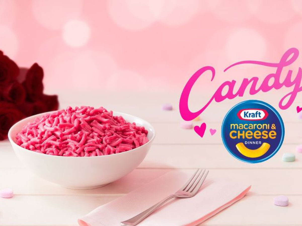 Kraft giving away limited-edition mac & cheese for Valentine's Day