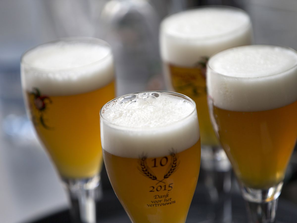 'Feisty' 103-year-old survives virus, celebrates with beer