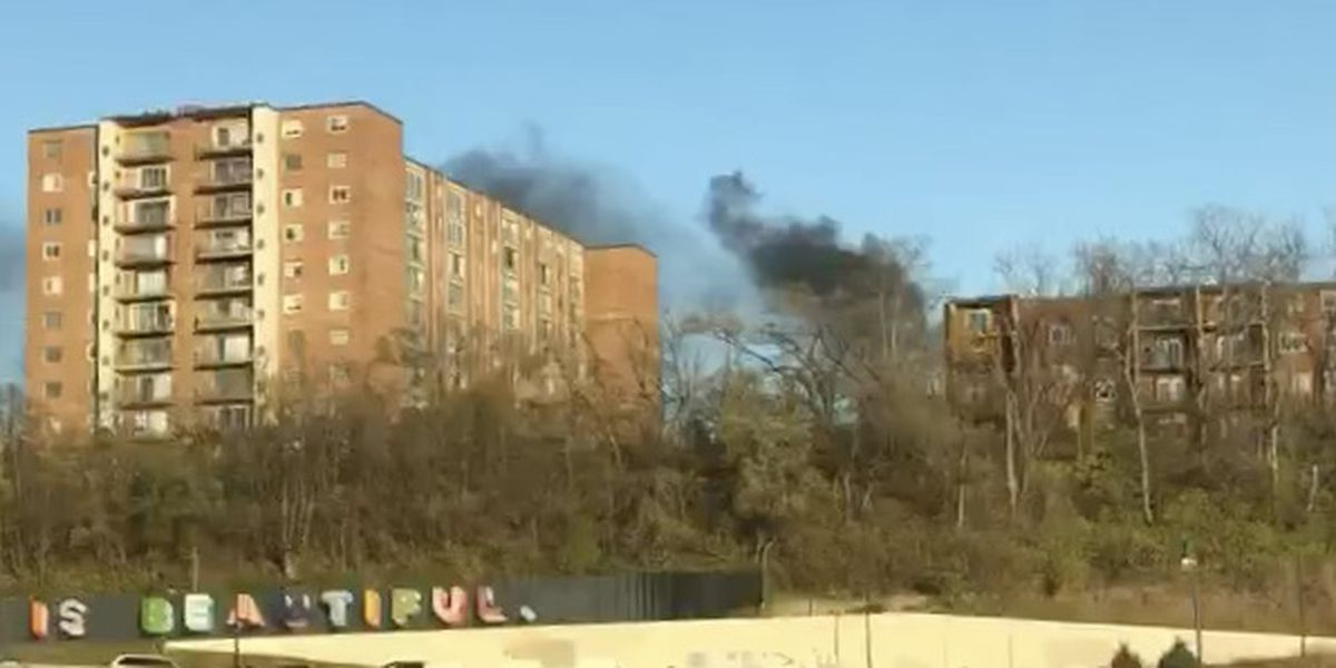 Fire causes 'major damage' in University Heights high rise