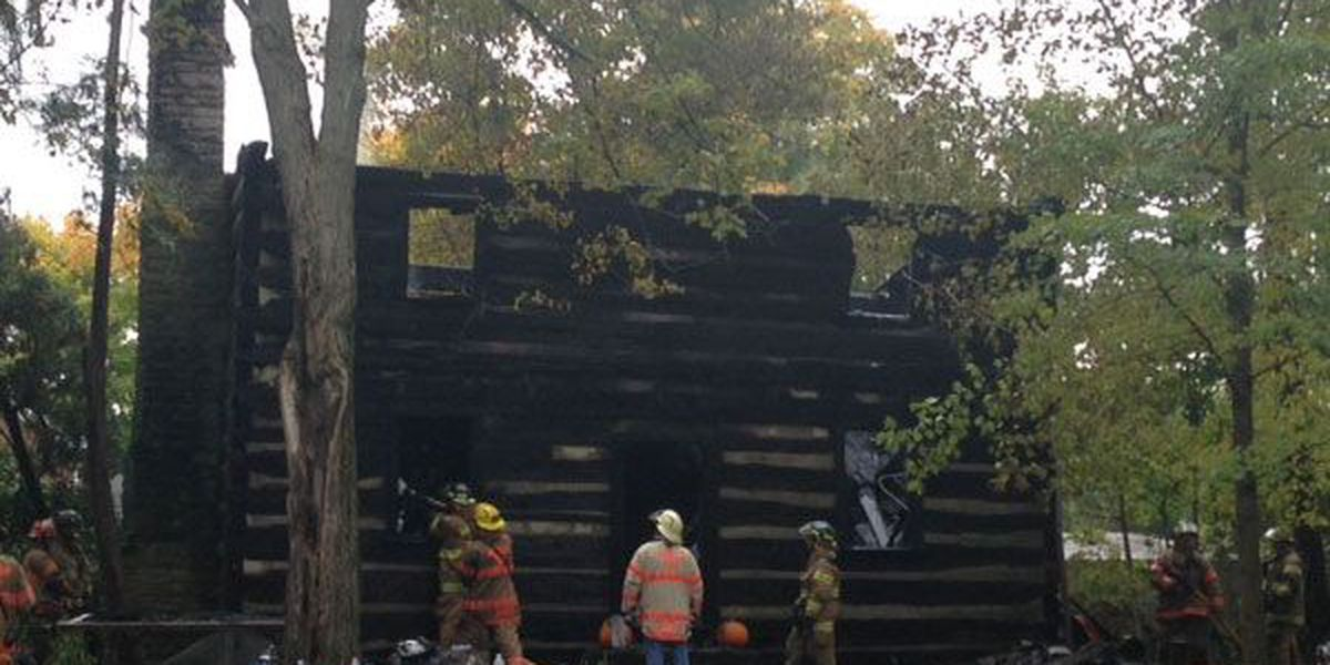 Hamilton log cabin from 1800s destroyed by fire