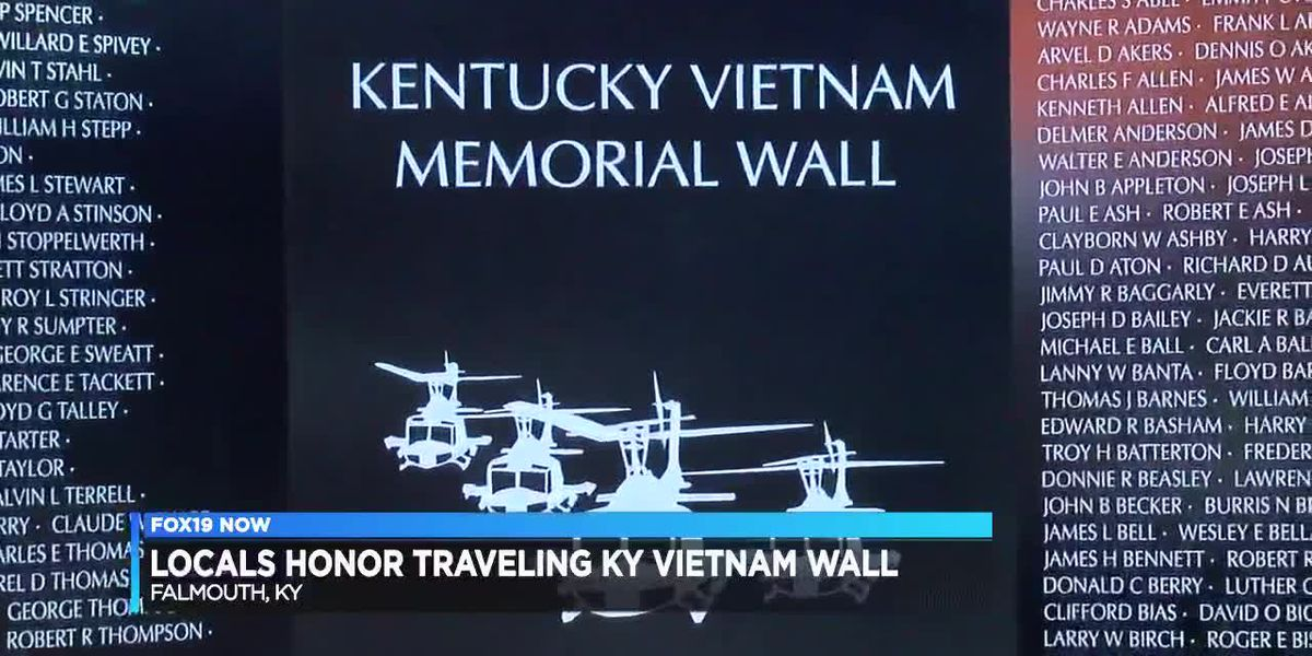 Locals honor Vietnam veterans in Kentucky