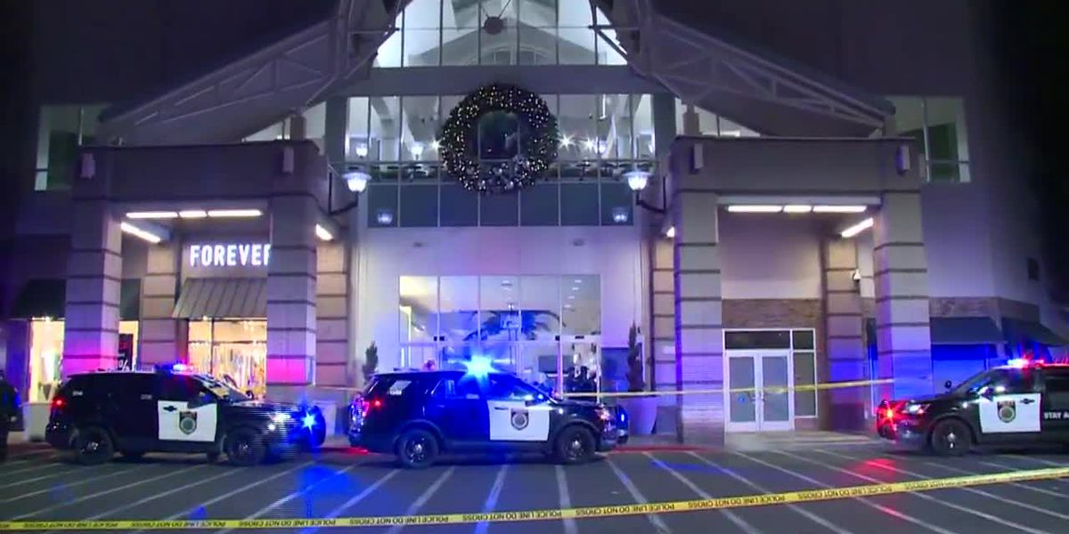 One person is dead and another person injured after a mall shooting in California