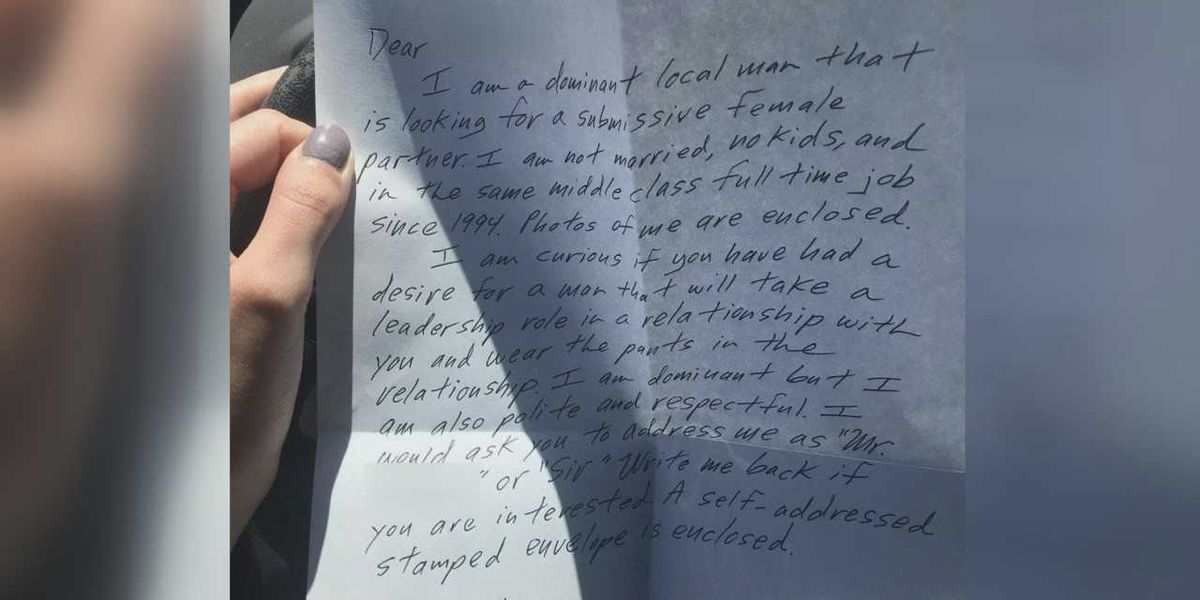 Family says letter seeking 'submissive female partner' came from ex-Mercy Health employee