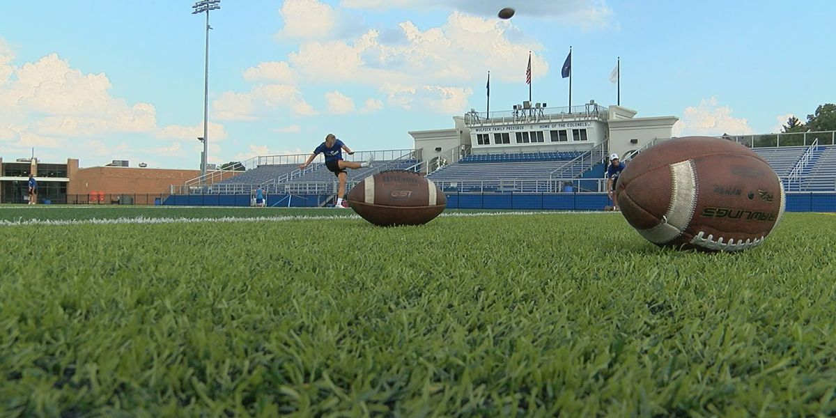 Cov Cath football player is kicking ALS