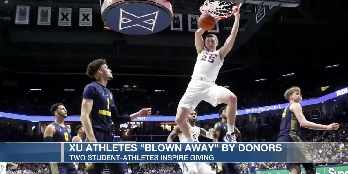 XU athletes 'blown away' by donors
