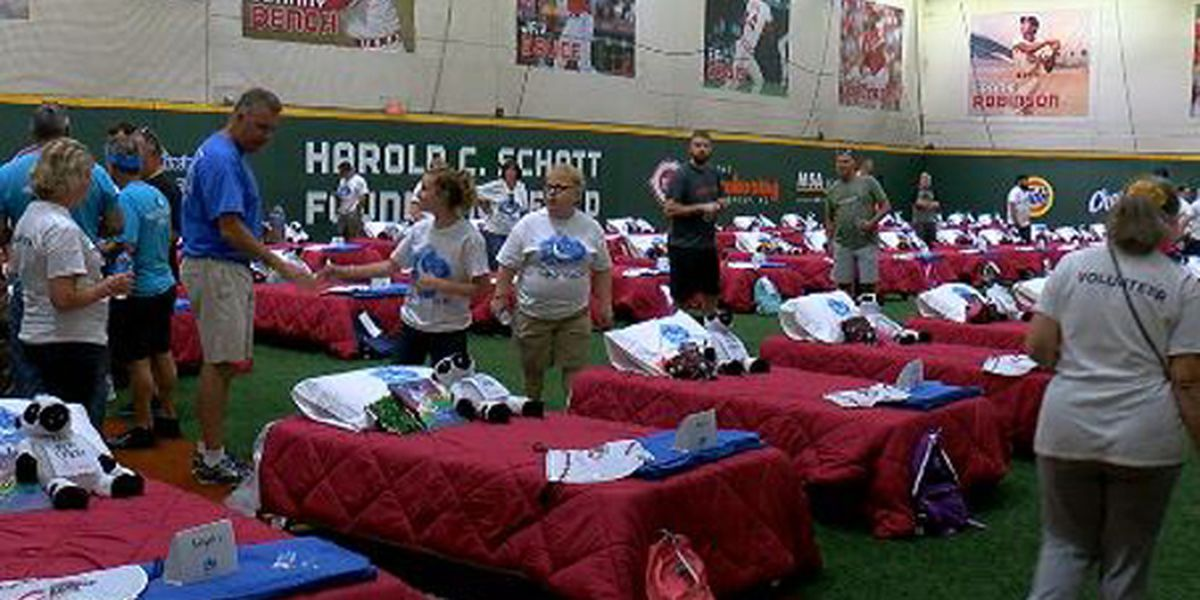 Local businesses give 50 beds to children in need at 'A Day to Dream' event