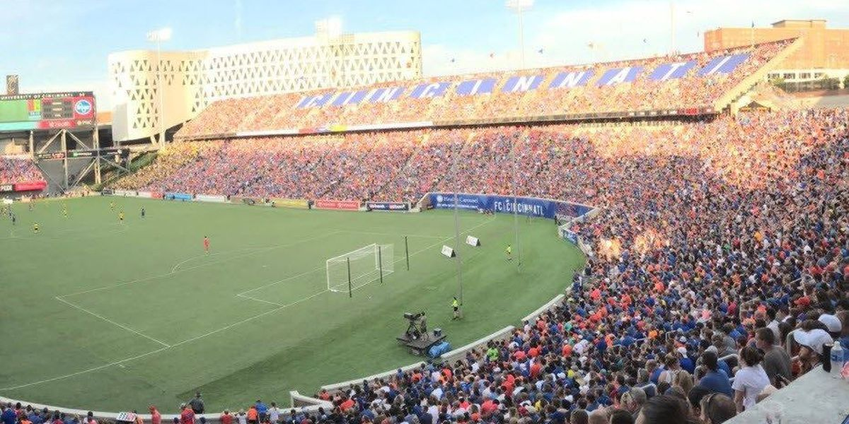 FC Cincinnati falls 3-2 to New York Red Bulls