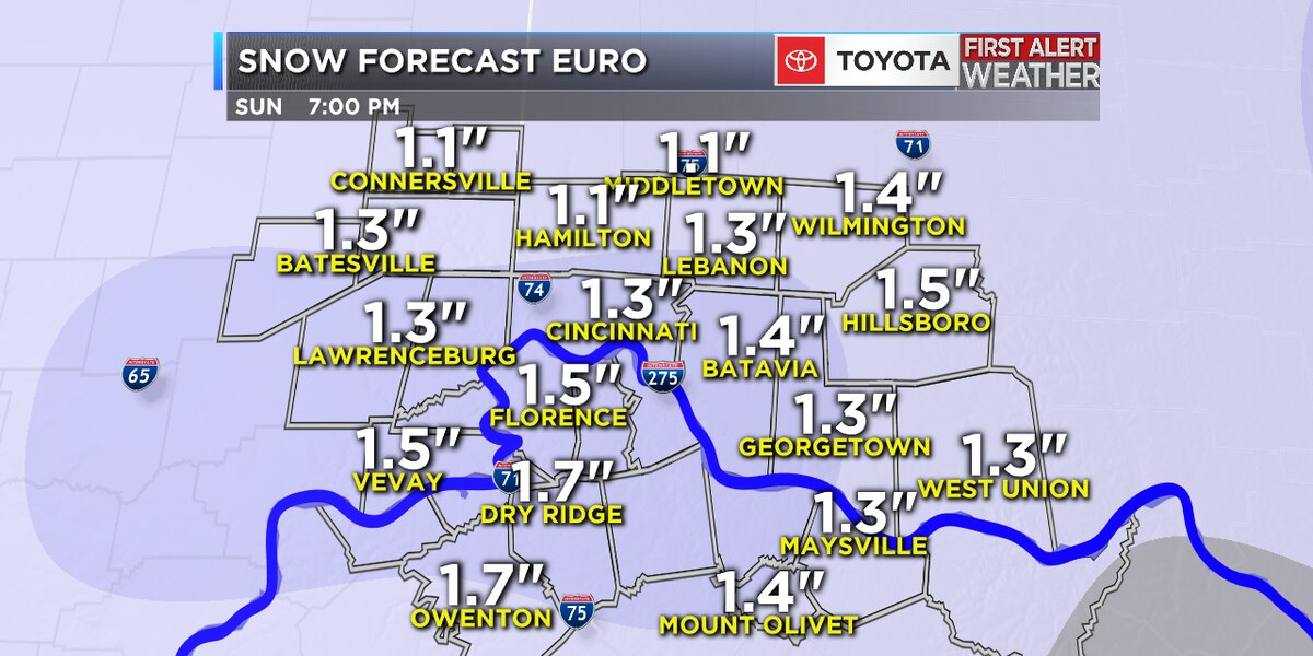 Winter Weather Advisory and bitter cold headed our way