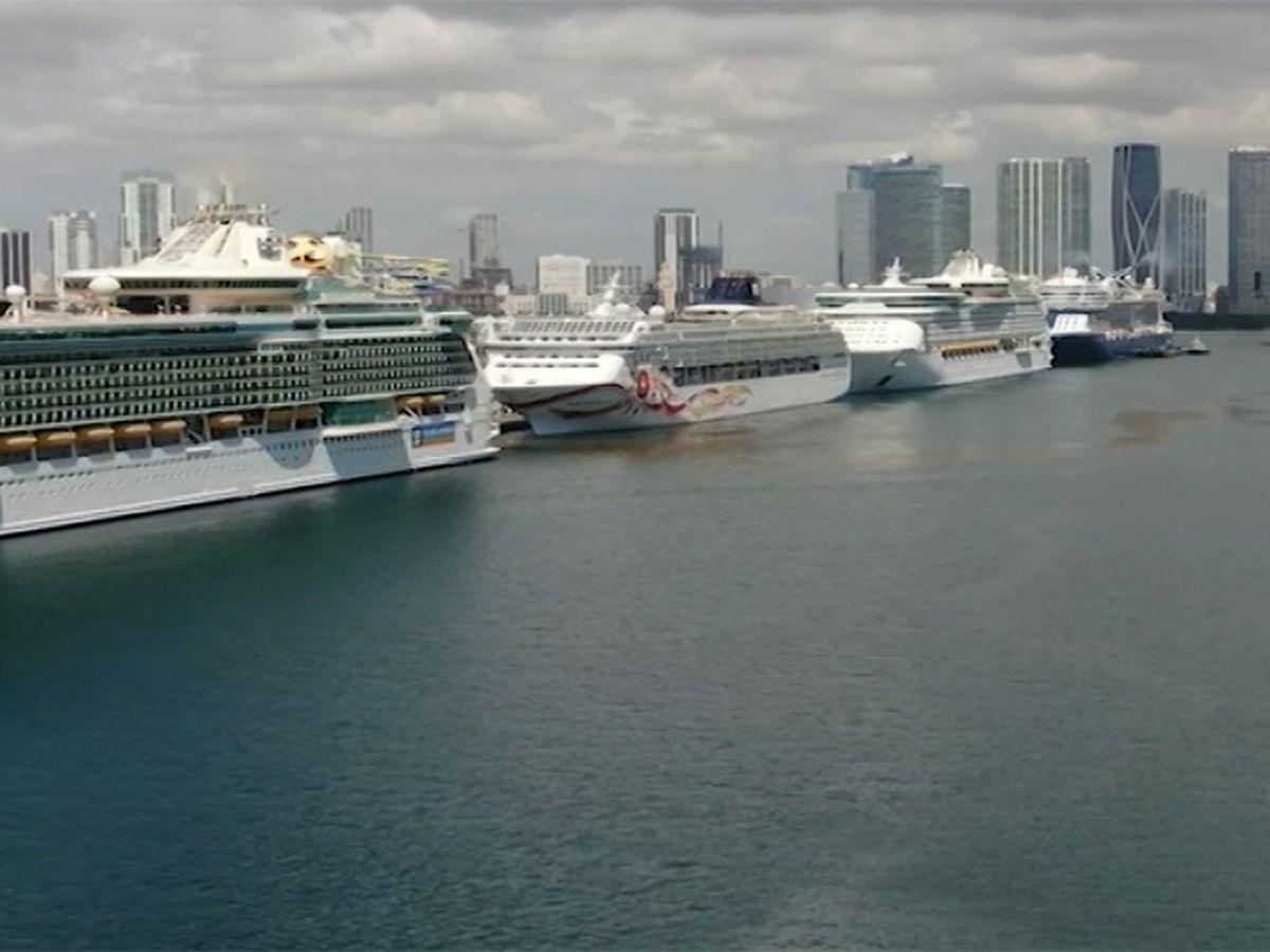 Major cruise lines cancel departures through October