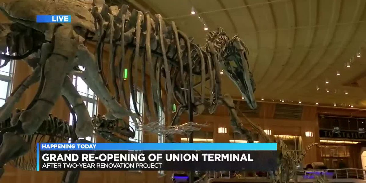 Grand re-opening of Union Terminal