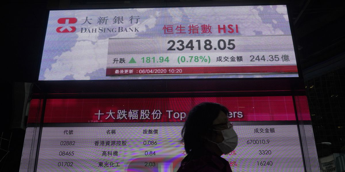Stocks rise sharply on hopes of progress in battling coronavirus