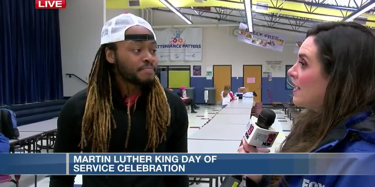 Martin Luther King Day of Service Celebration at Roberts Paideia Academy