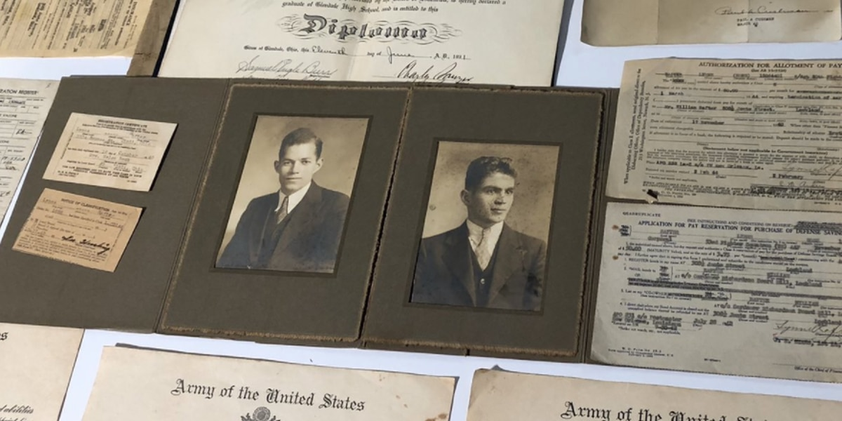Unsolved mystery: World War II documents found in closet of Tri-State home