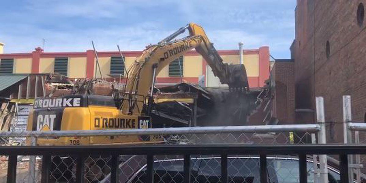 Former OTR Kroger is being demolished