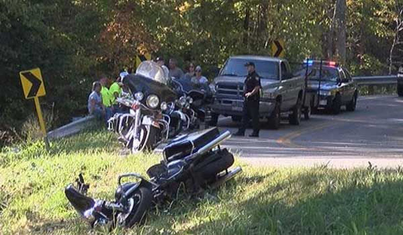 Woman dies from injuries after multi-motorcycle wreck in