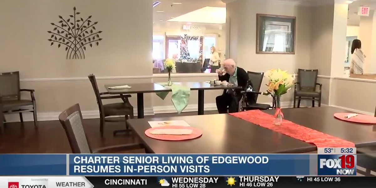 Charter Senior Living of Edgewood resumes in-person visits
