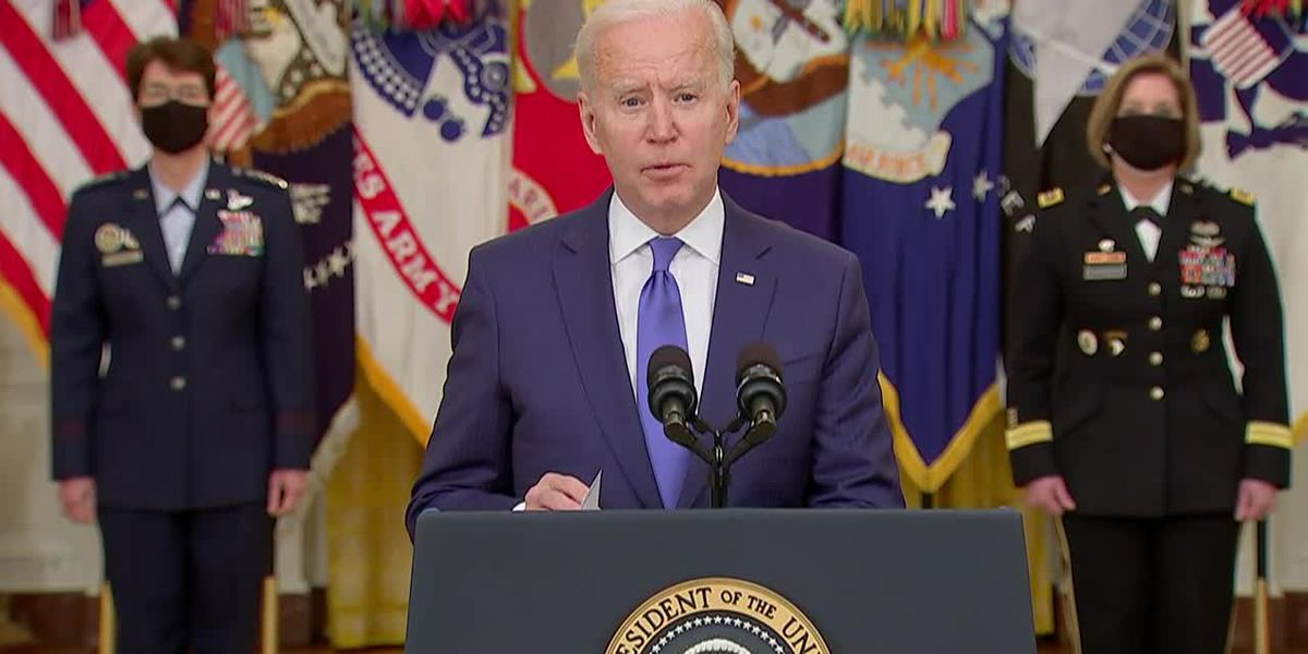 Biden remarks at International Women's Day event