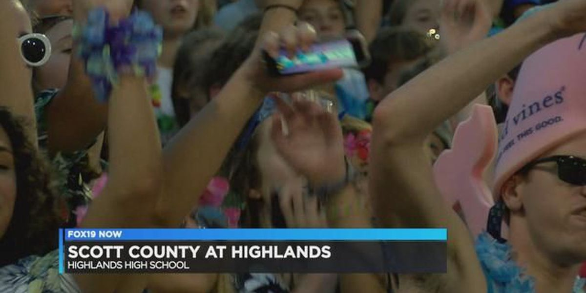 Highlands loses to Scott County in weather shortened game
