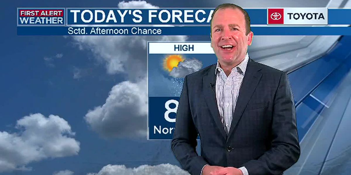Frank's Thursday morning forecast 6/4