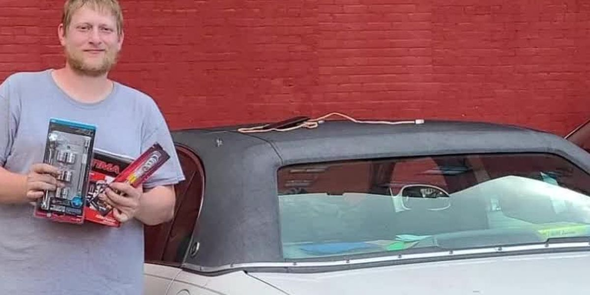 After rough 2020, local vet's car is stolen just as he's getting back on his feet