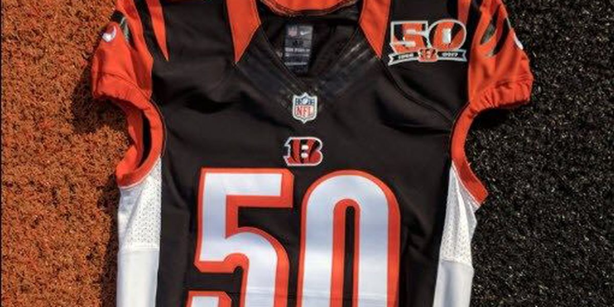 Bengals unveil special logo for 50th anniversary